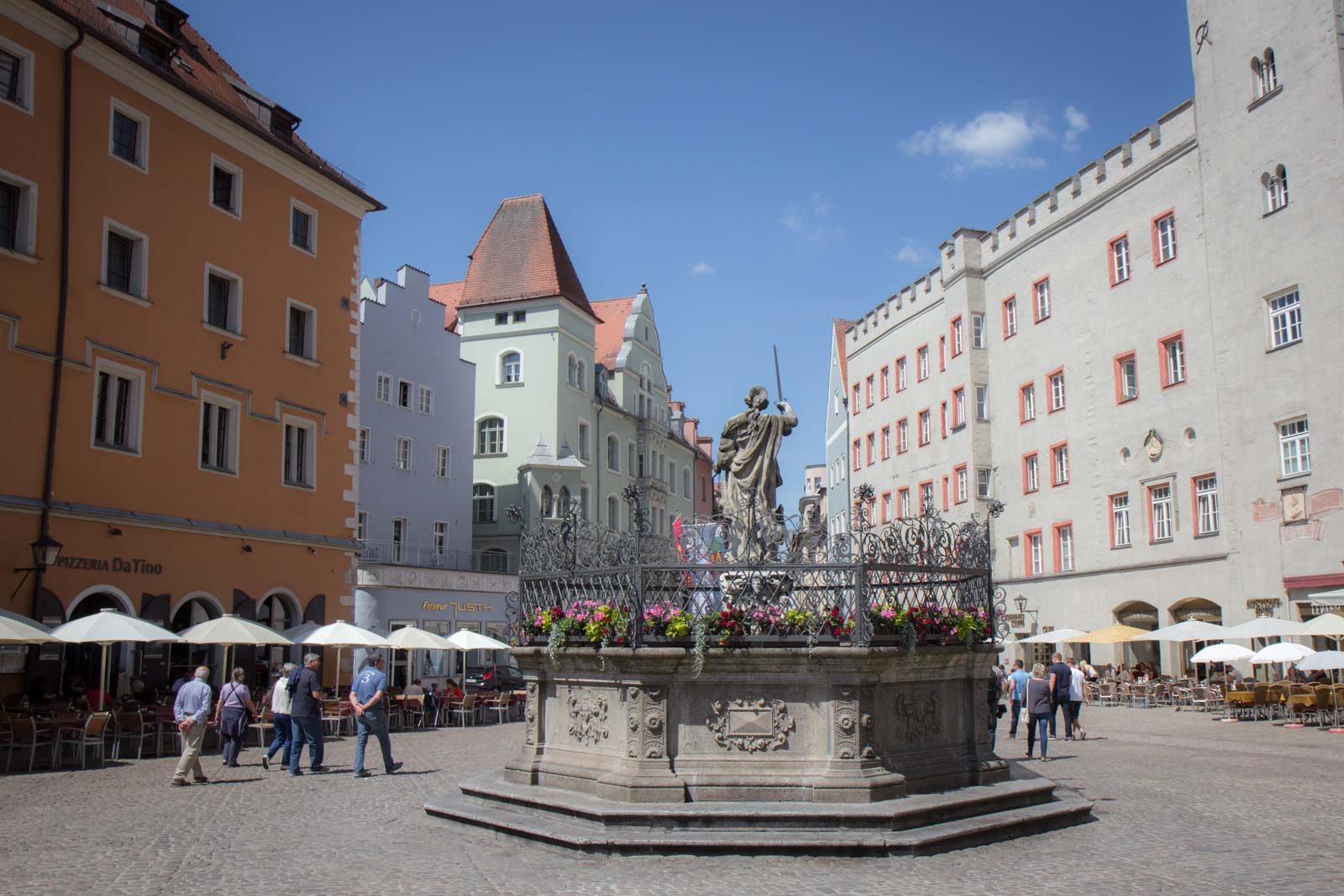 Old Town Regensburg, Germany, World Heritage Site