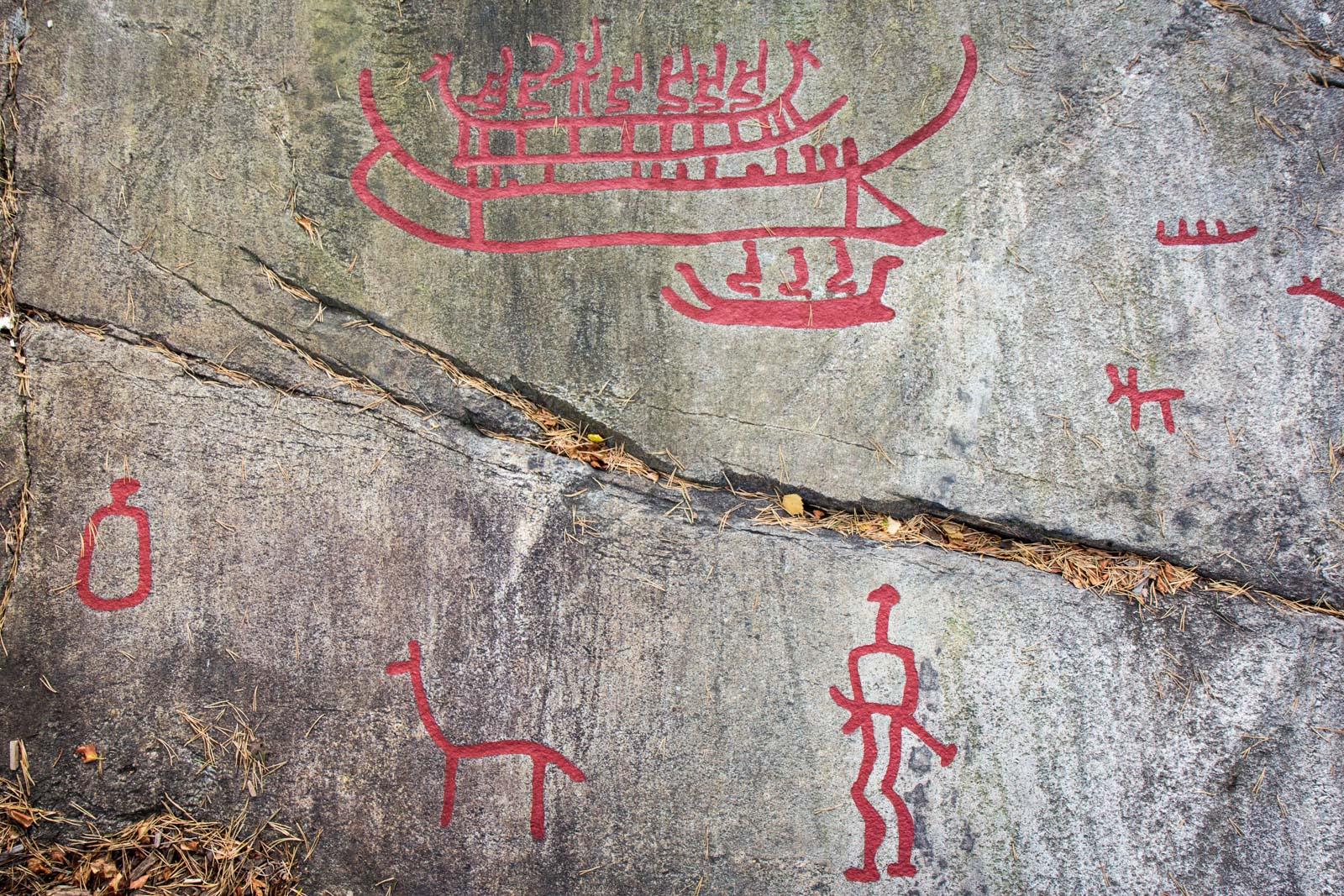 Tanum rock carvings bohuslän sweden world heritage site