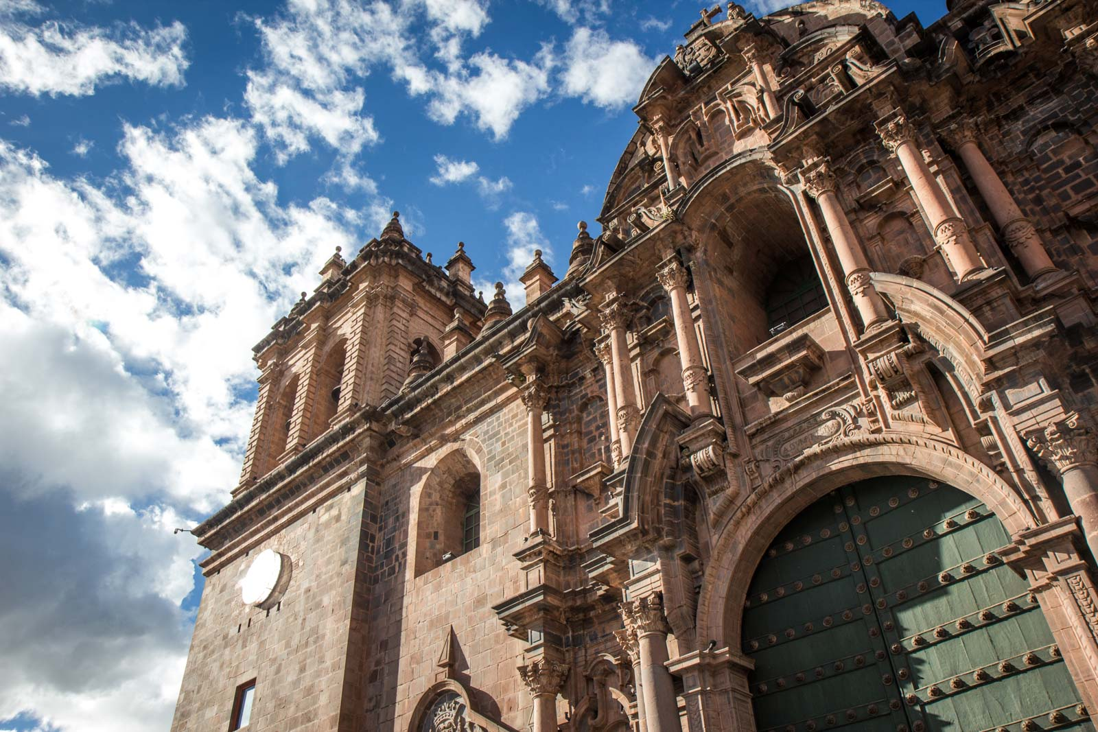 Visiting the World Heritage Site of Cusco, Peru