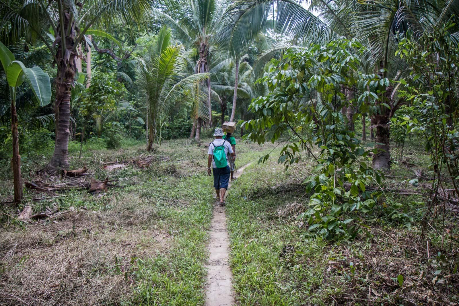 Batak tribe visit, Palawan, P