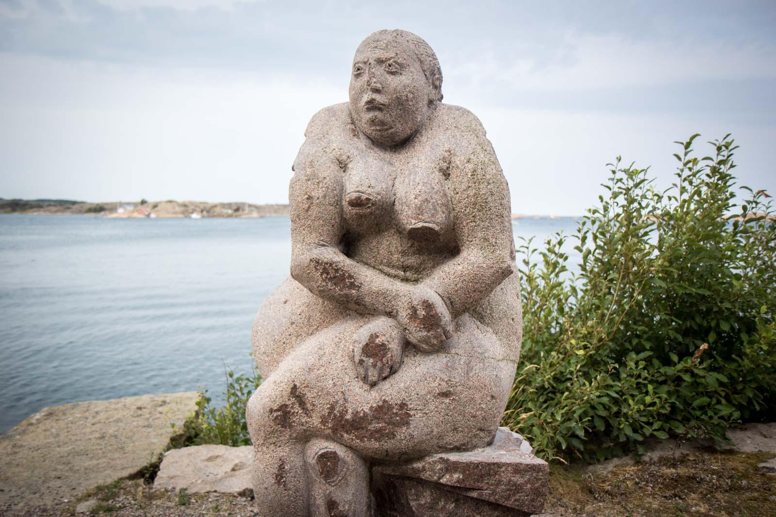 Udden stone sculptures, Hunnebostrand, Sweden