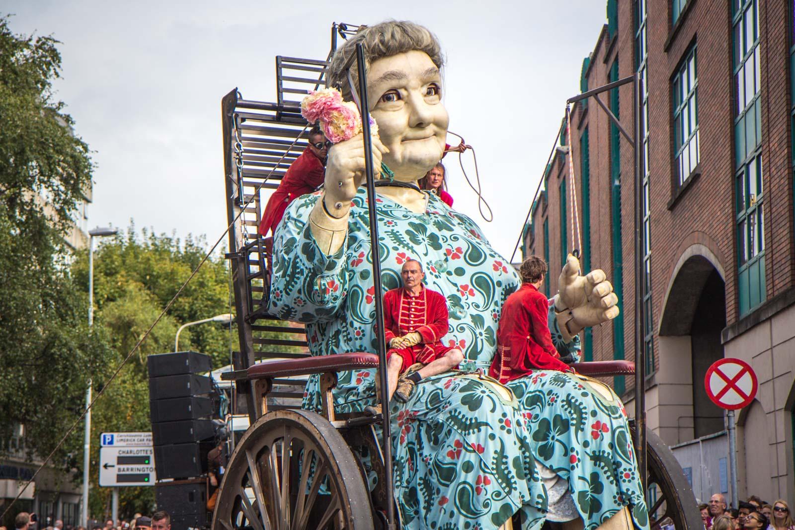 Giant Granny, Limerick, Royal De Luxe