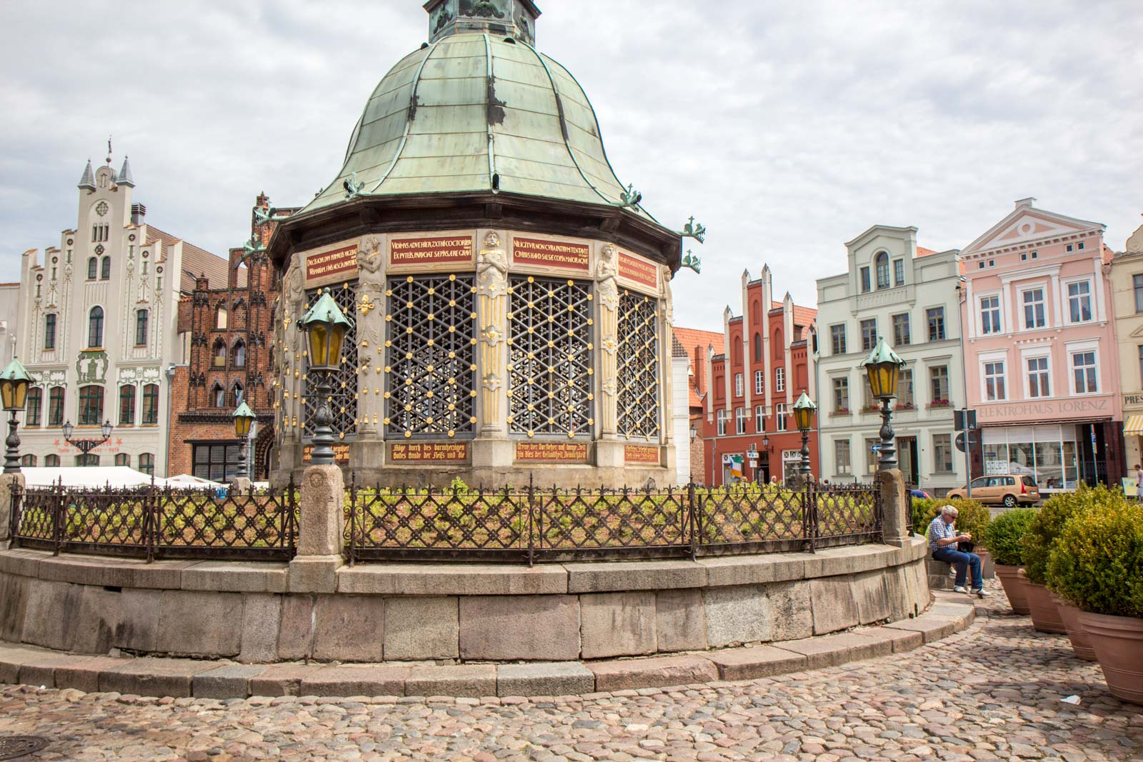 Visiting Wismar, World Heritage Site, Germany