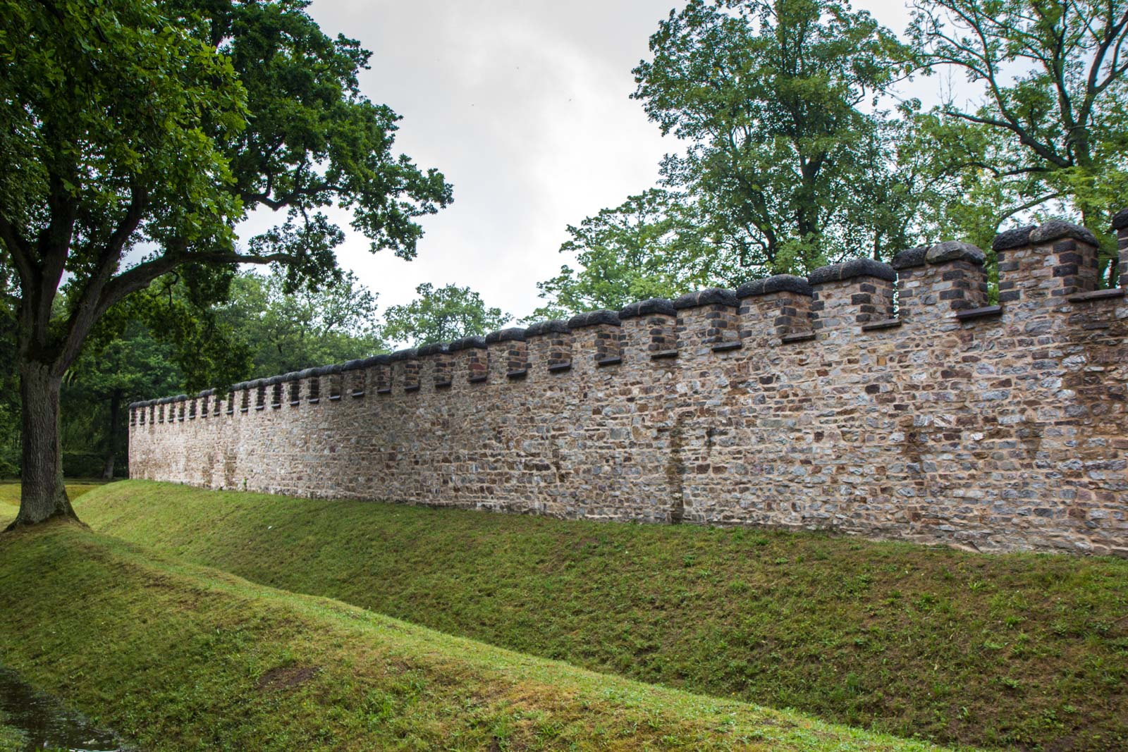 Saalburg Fort, Bad Homburg, Germany