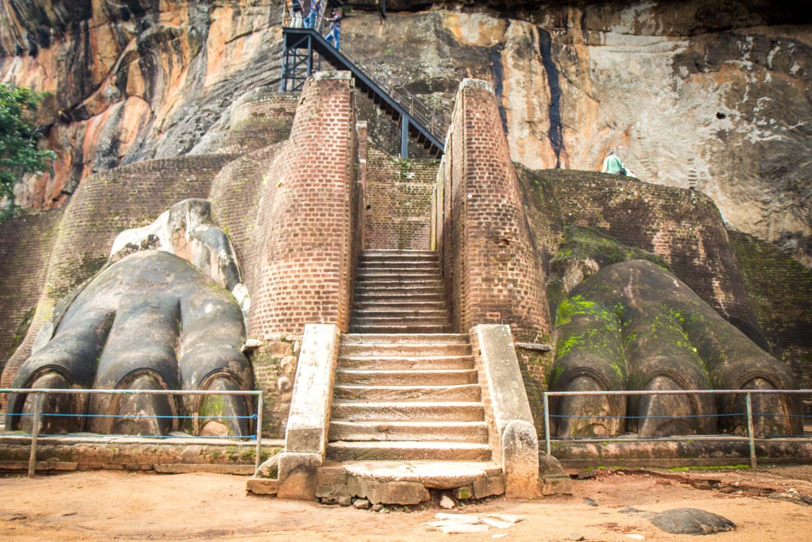 Visiting Sigiriya, Sri Lanka