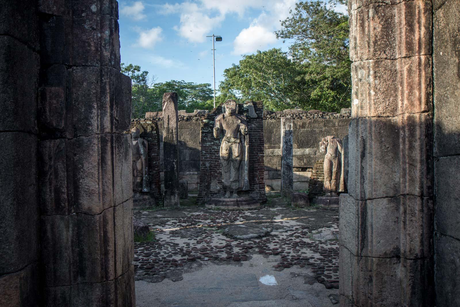 What to see at Polonnaruwa, Sri Lanka