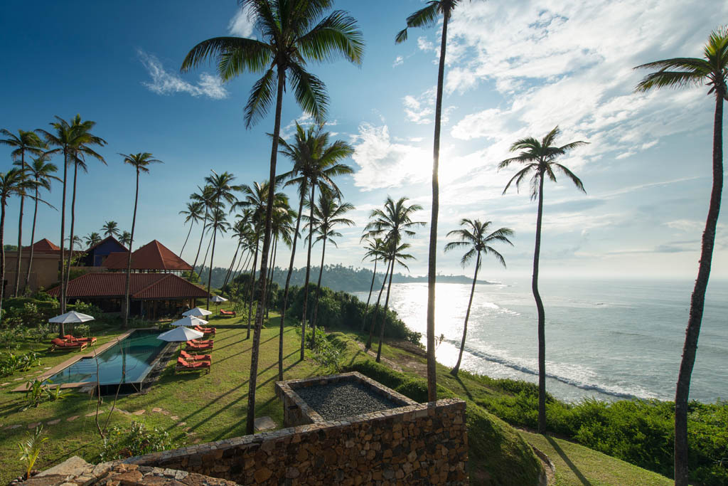 Cape Weligama hotel, Sri Lanka