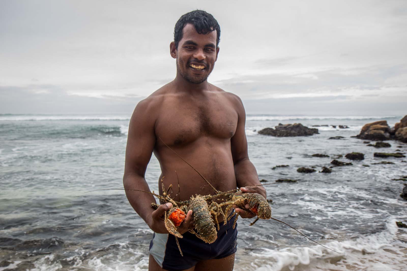 Weligama, Sri Lanka's south coast, beaches