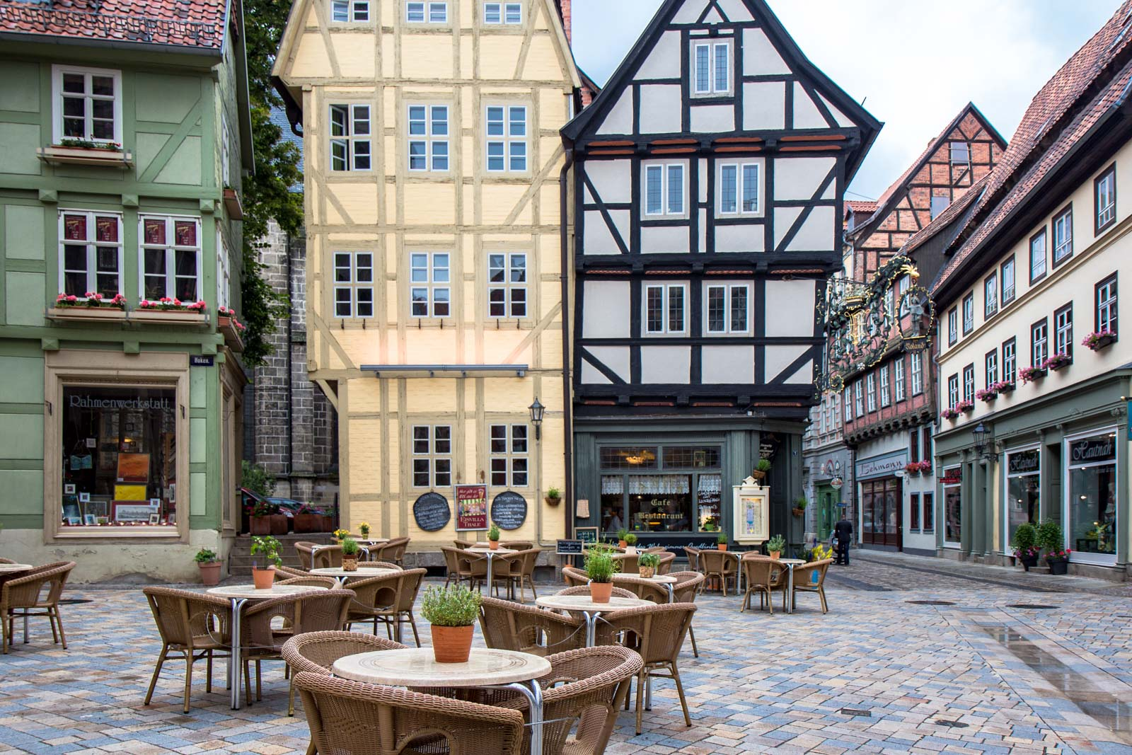 Quedlinburg medieval town, Germany