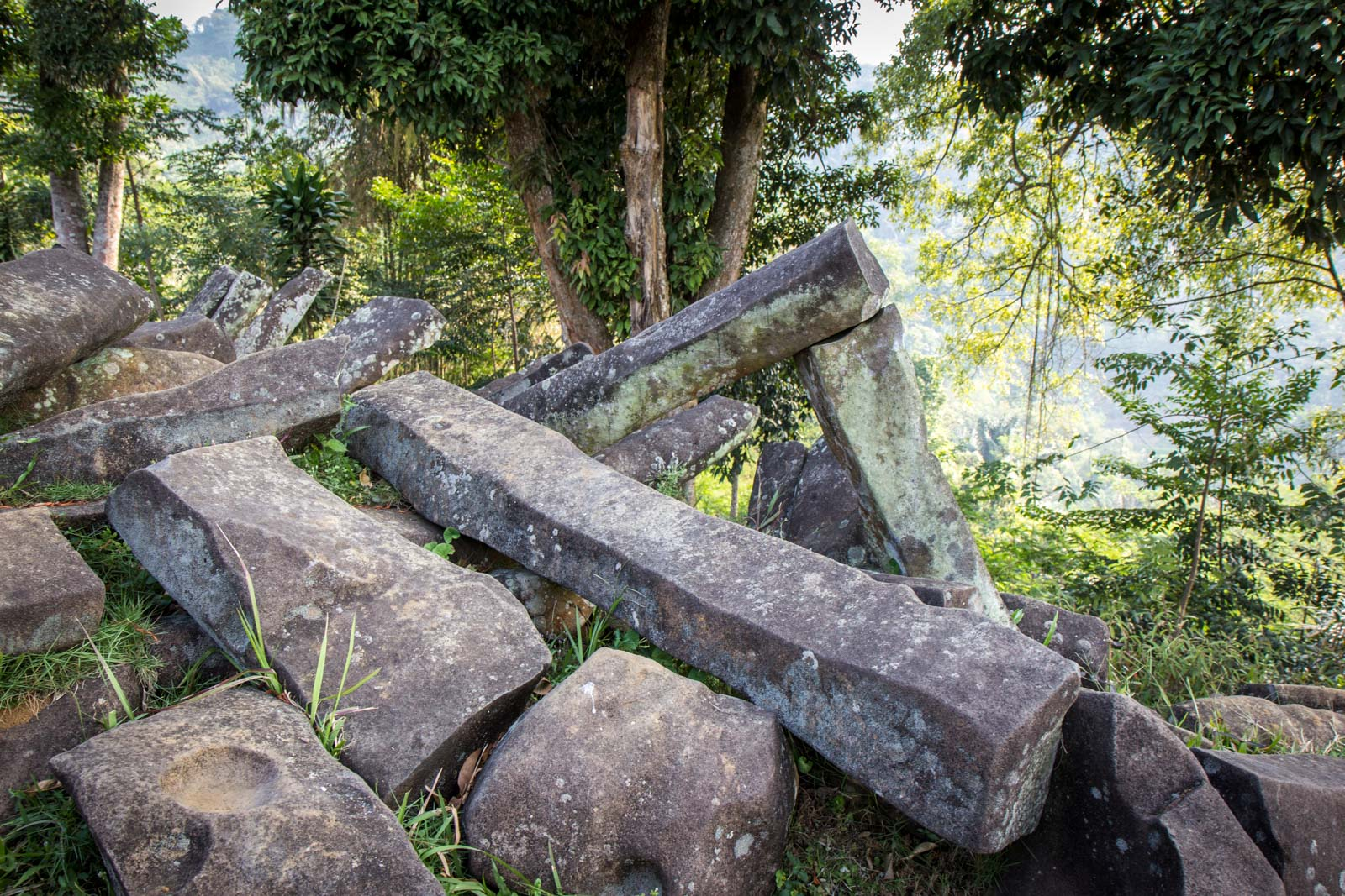 Gunung Padang Megalithic Site, Indonesia