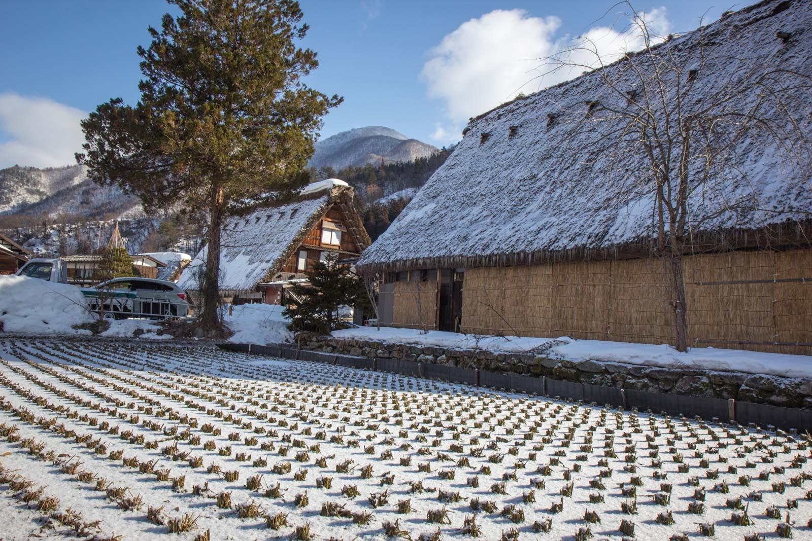 Shirakawa-go village, Japan, World Heritage Site