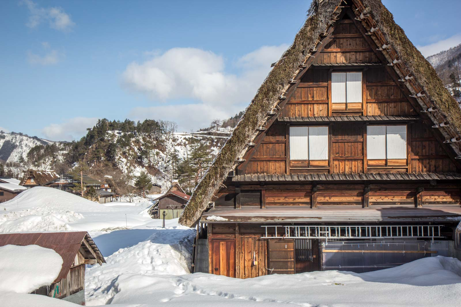 The World Heritage Village Of Shirakawa Go Japan