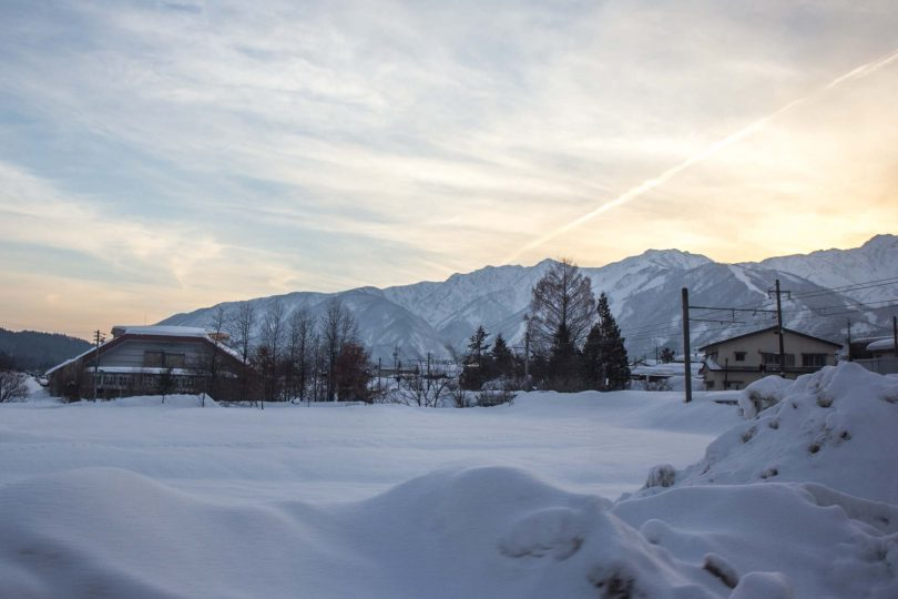 A bit of Australia in Japan's snowfields