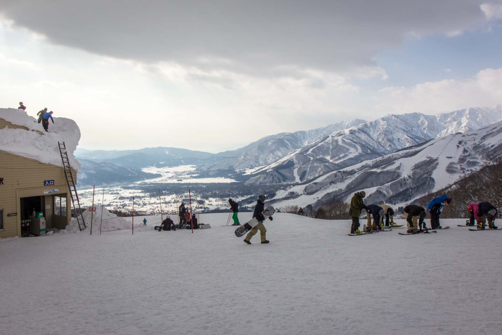 hakuba ski resort, nagano, japan