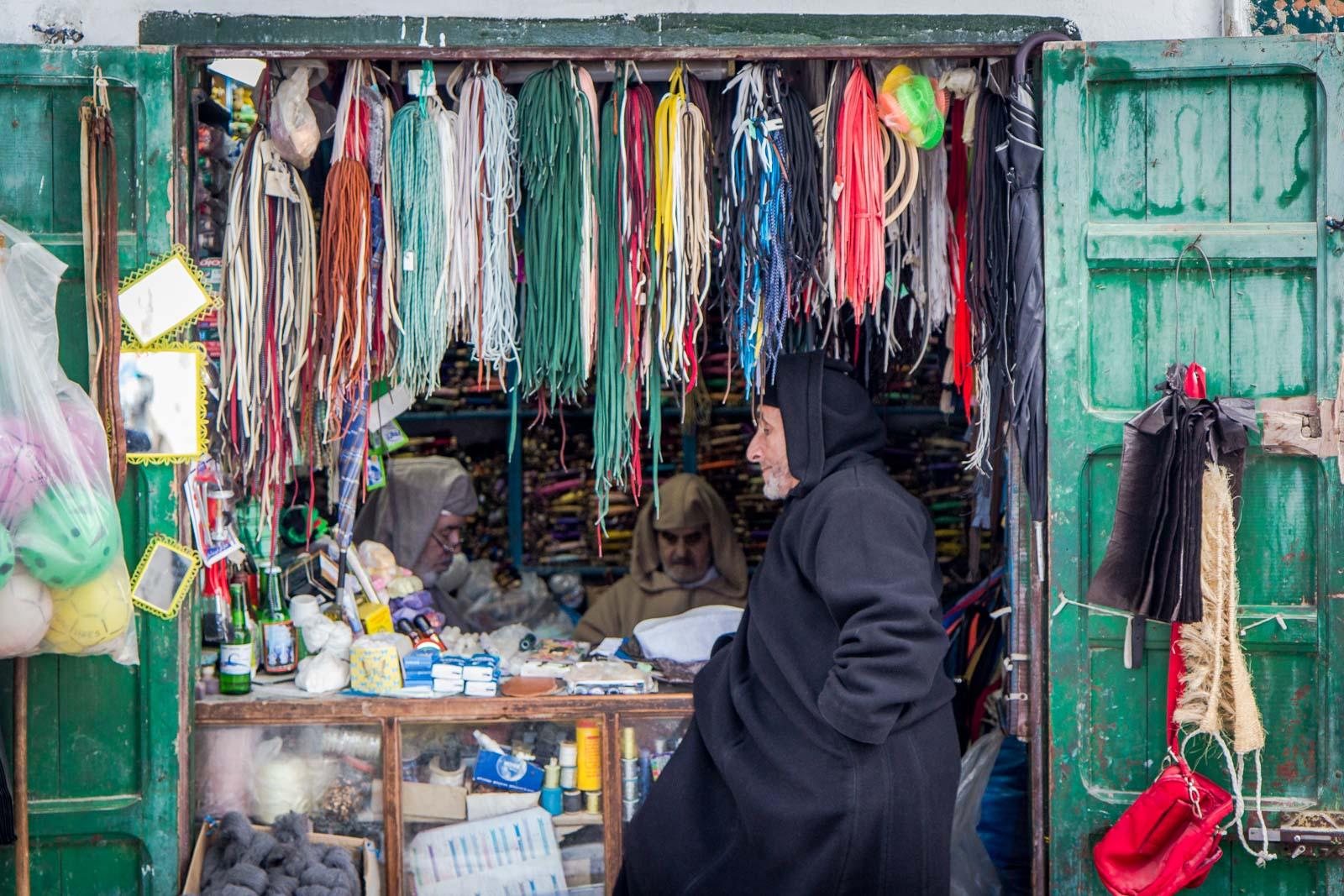 Local market in Tetouan, Morocco