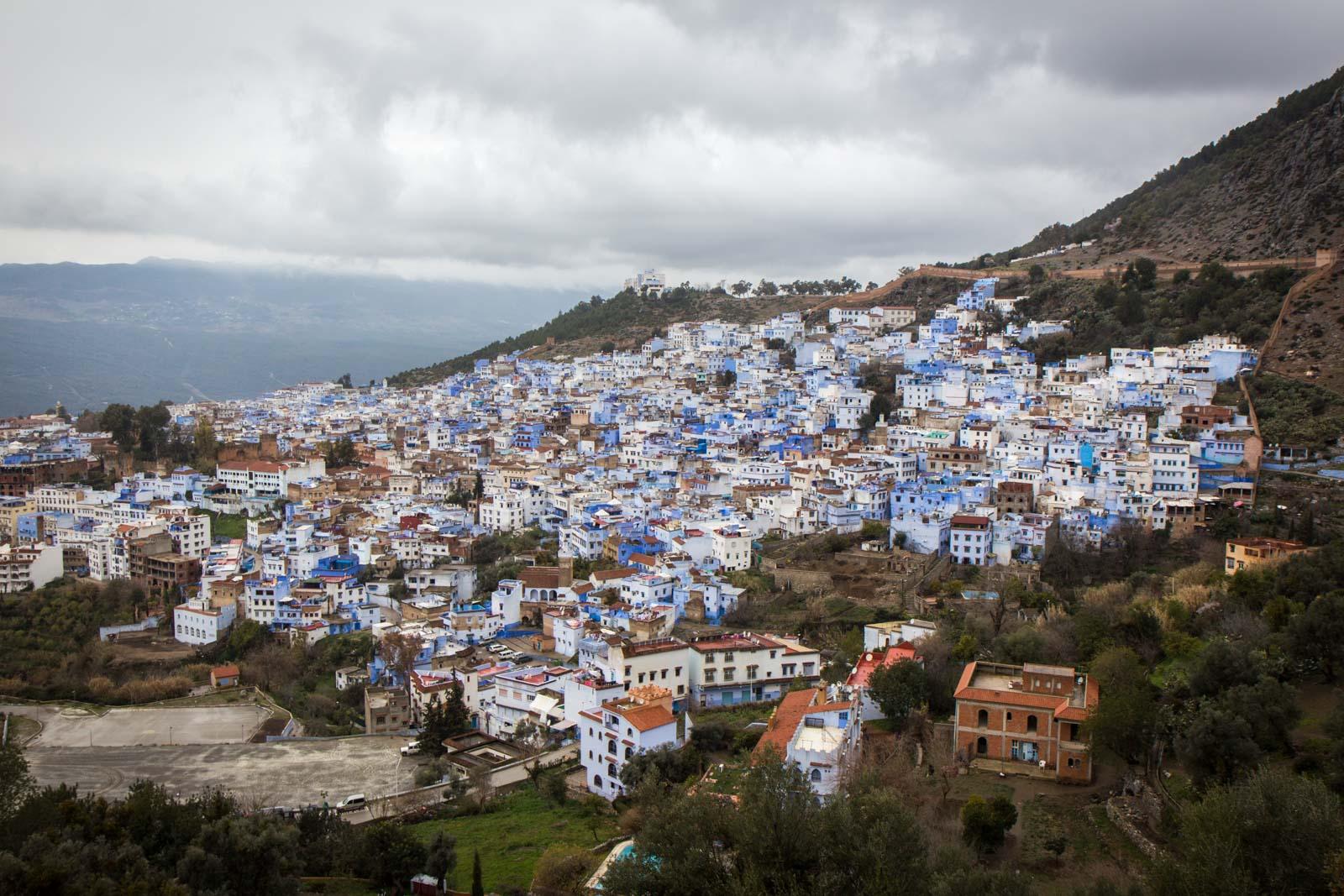 Chefchaouen, Morocco, blue city