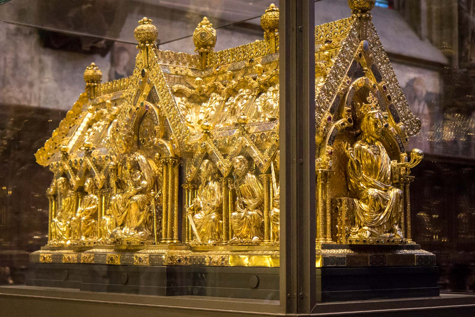 Aachen Cathedral, Charlemagne's shrine, Germany