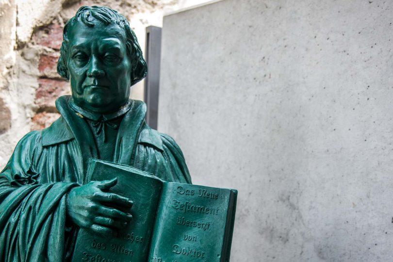 Luther memorials, Eisleben, Germany