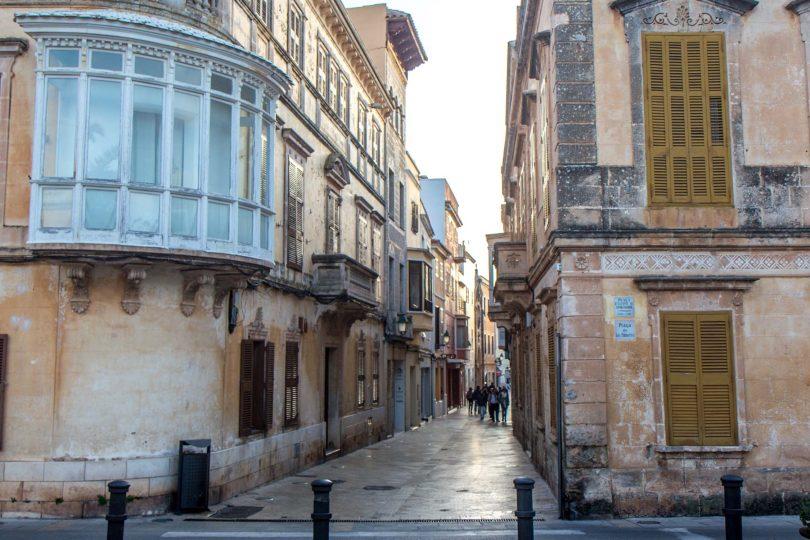 The streets of Ciutadella