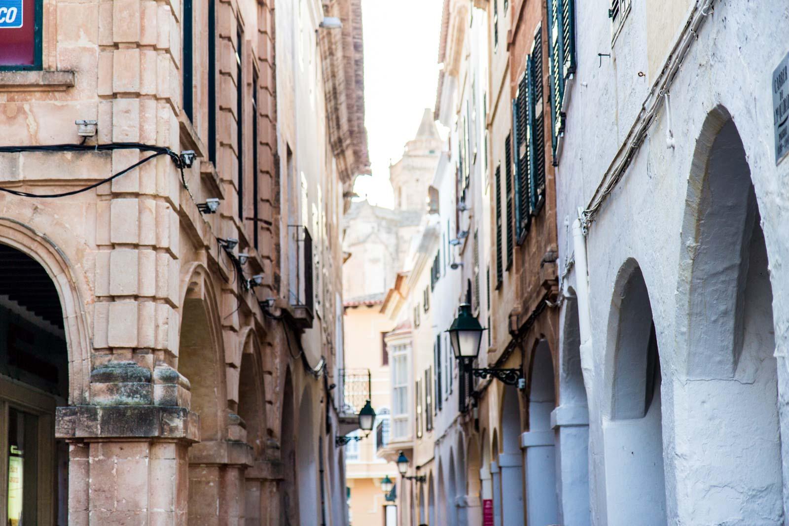 Street photography in Ciutadella, Menorca, Spain
