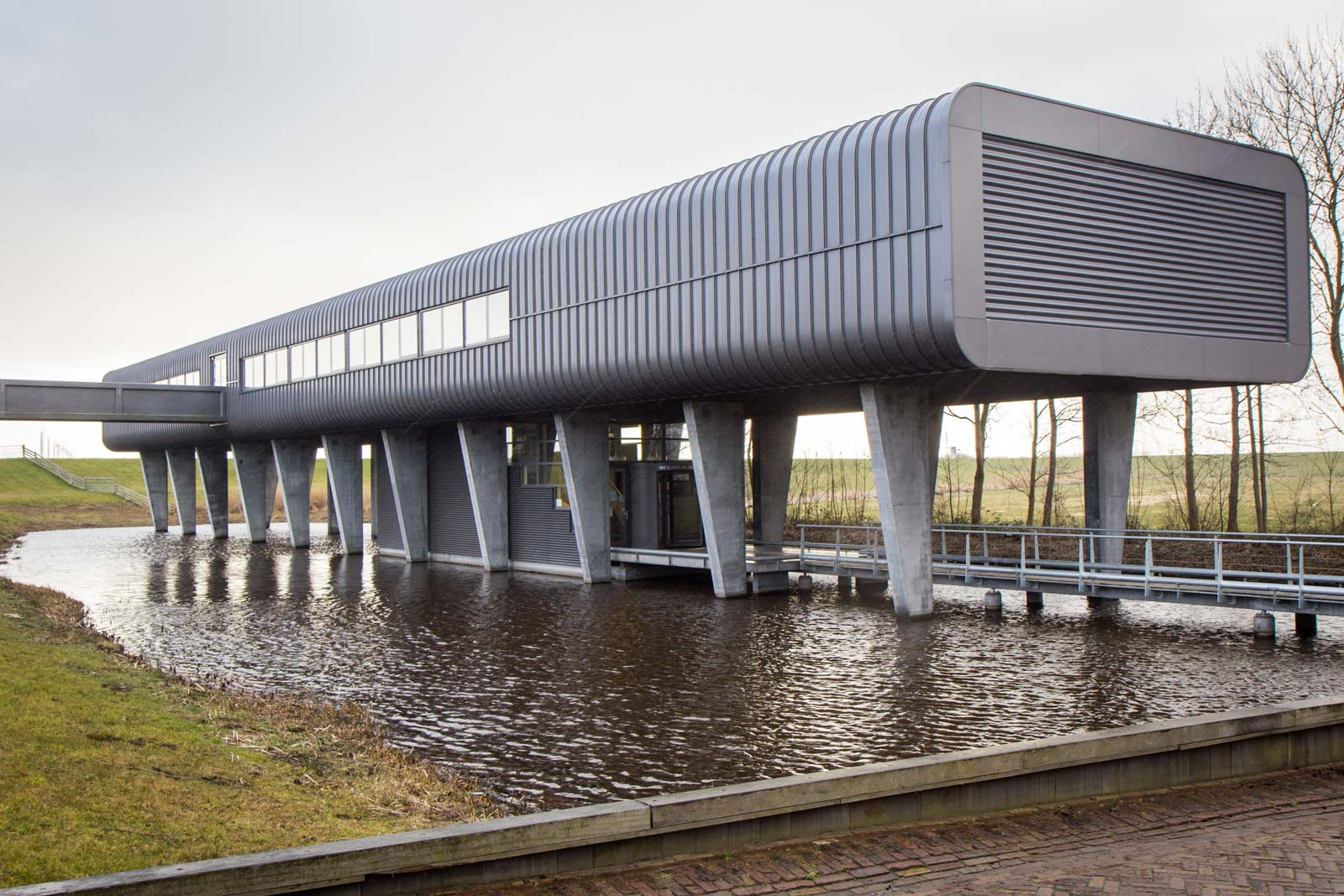 D.F. Wouda Steam Pumping Station, Lemmer, The Netherlands