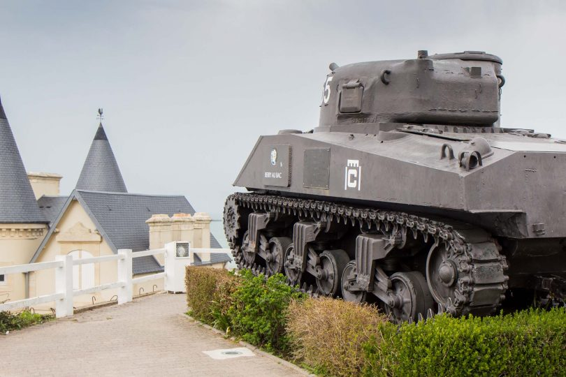 D-Day sites in Normandy, France