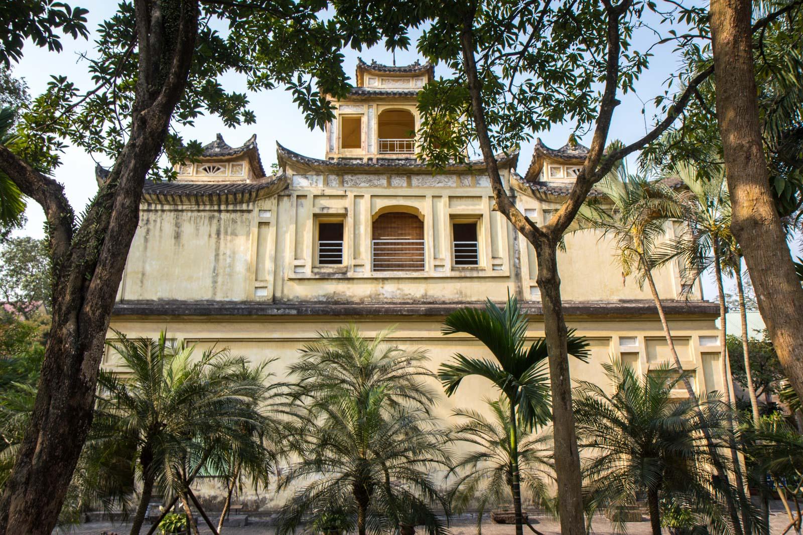 Imperial Citadel of Thang Long, Hanoi, Vietnam