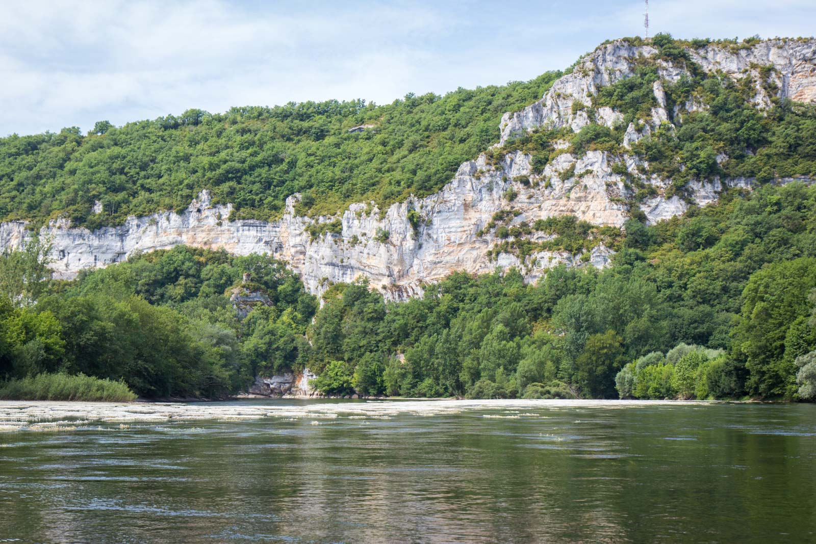 Kayaking on the Dordogne, France