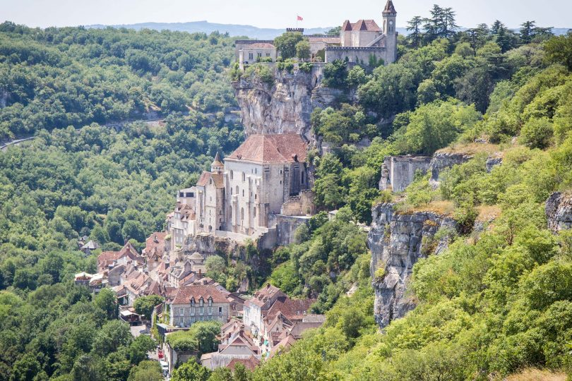 A miracle in Rocamadour