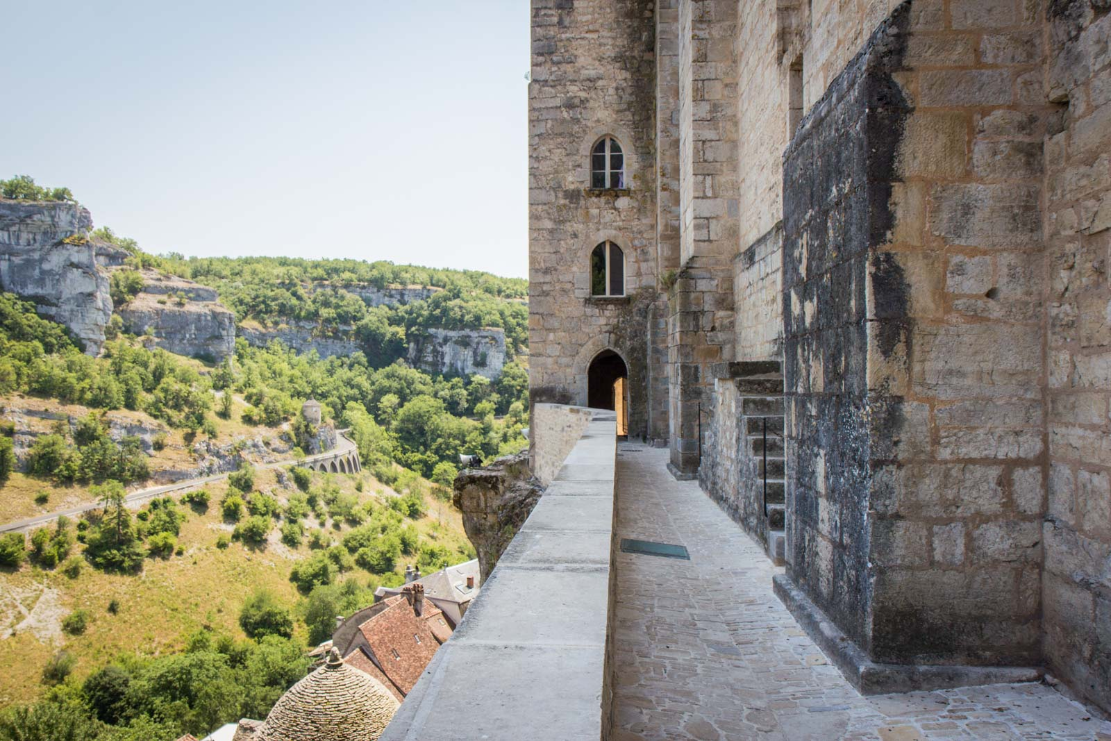 Visiting Rocamadour in France