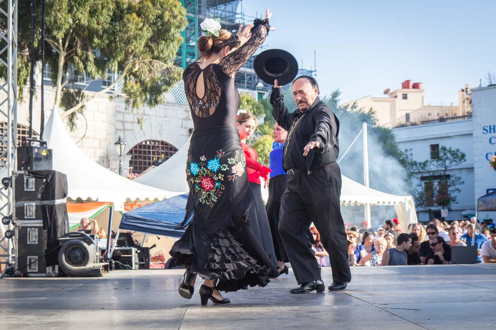 Calentita food festival, Gibraltar