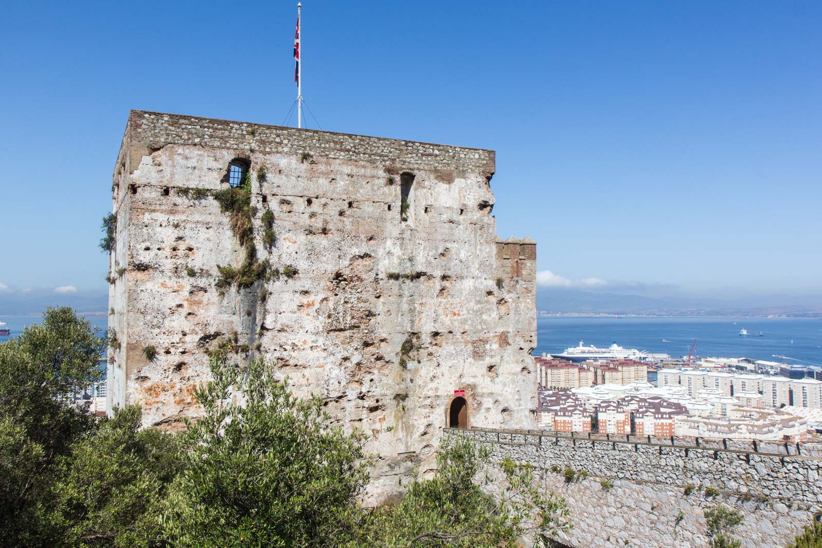 Moorish castle, Rock of Gibraltar