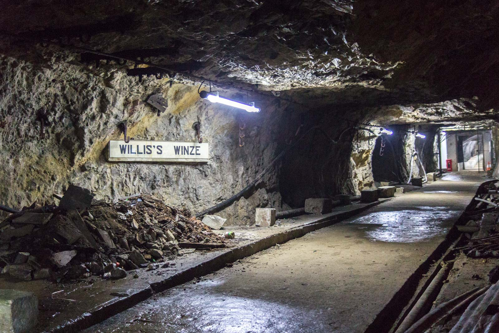 World War II Tunnels, Rock of Gibraltar