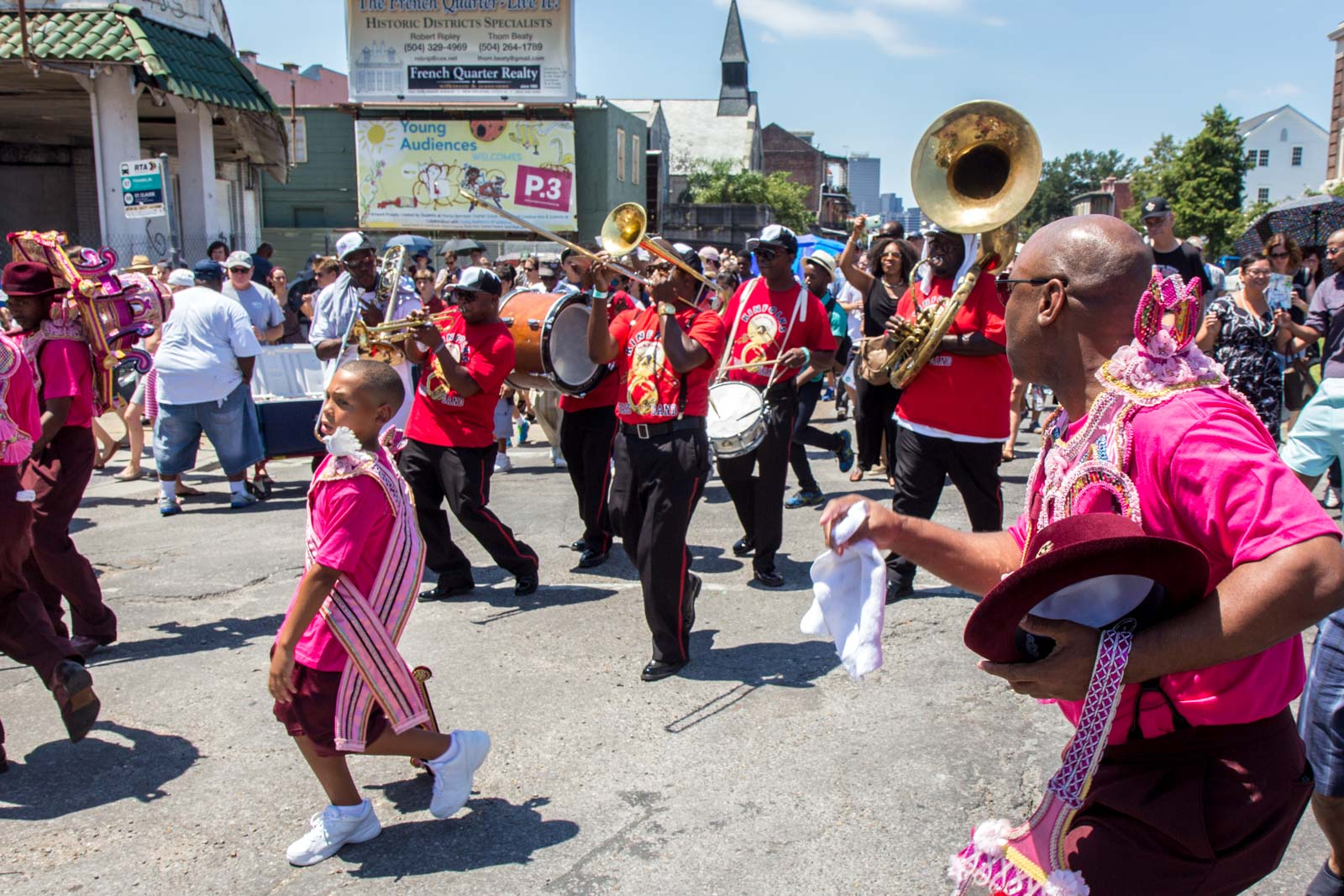 Second Line Parade, New Orleans, Louisiana