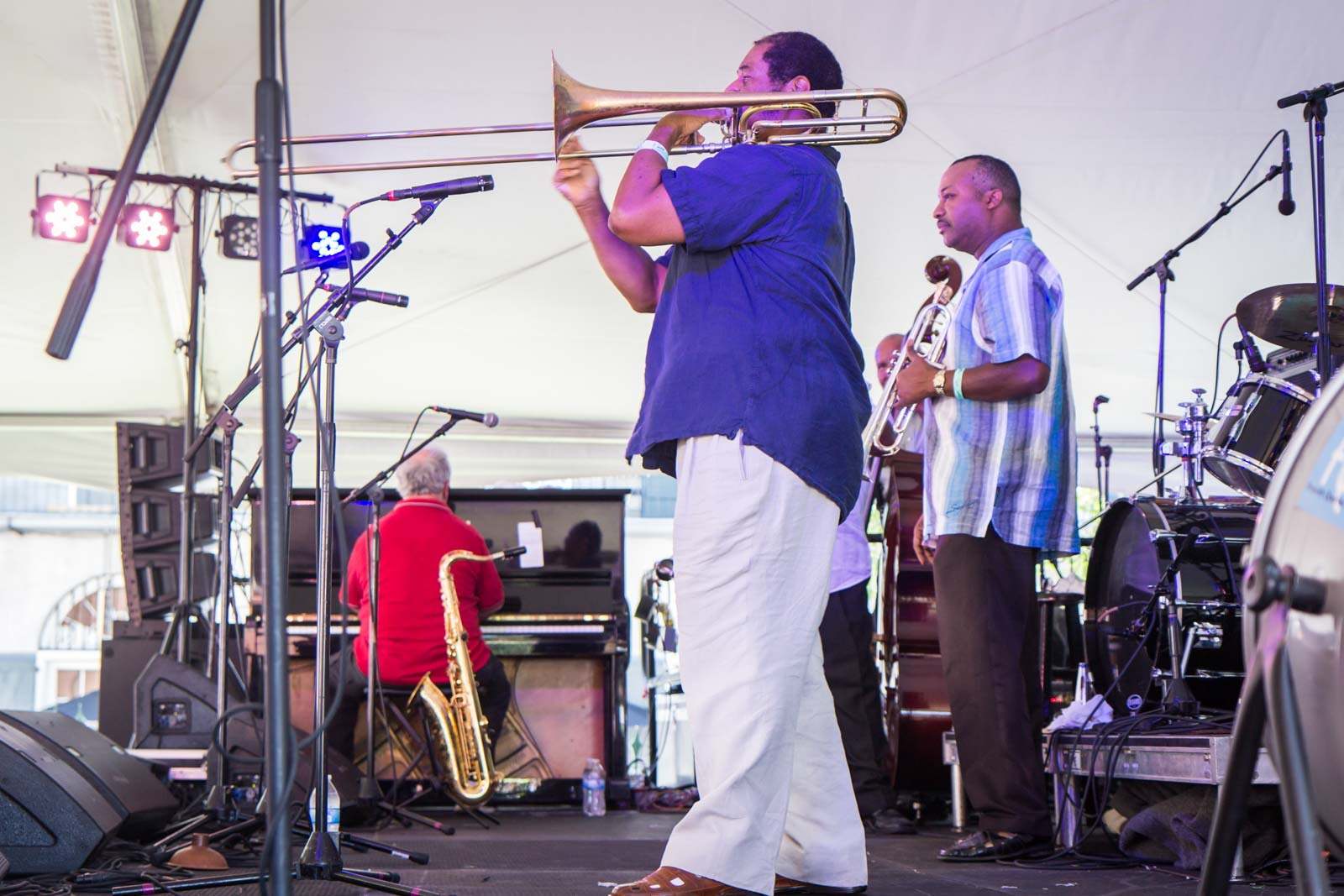 Satchmo Summerfest, Louis Armstrong festival, New Orleans