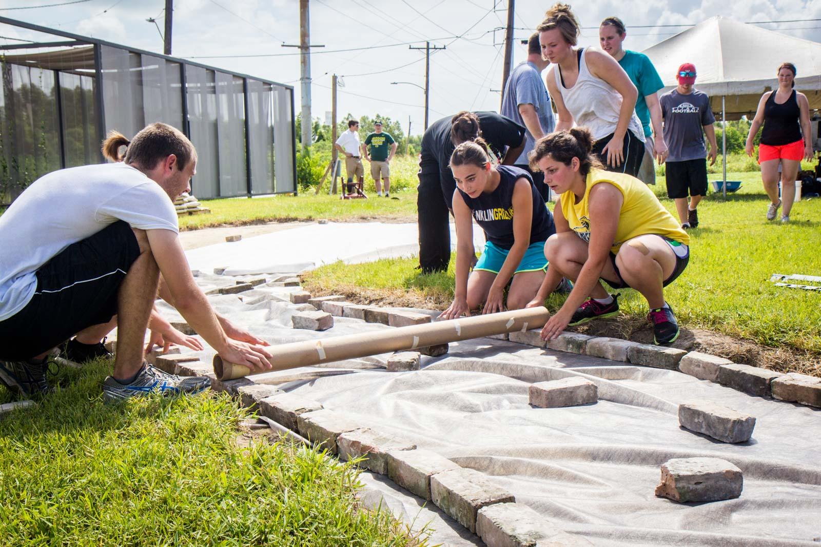 Volunteer in New Orleans, Camp Restore, Hurricane Katrina