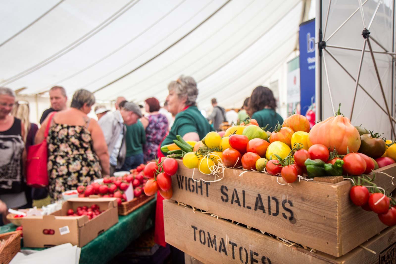 Garlic Festival, Isle of Wight, England