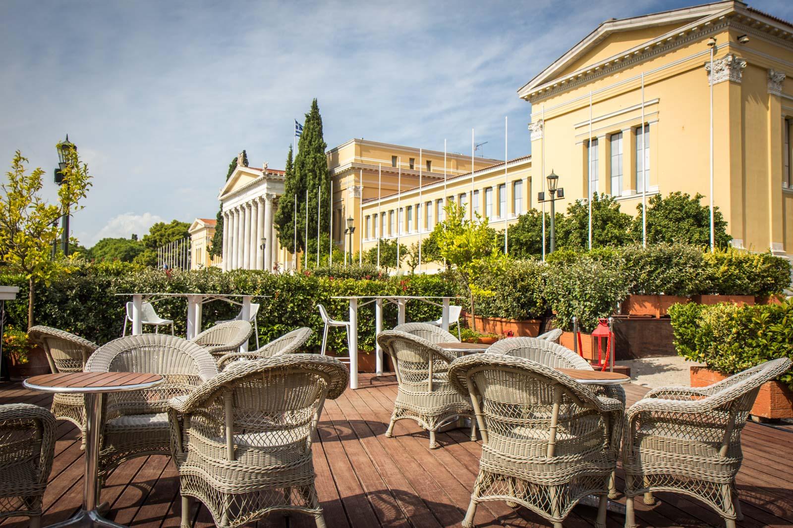 Aegli Zappiou restaurant, Athens