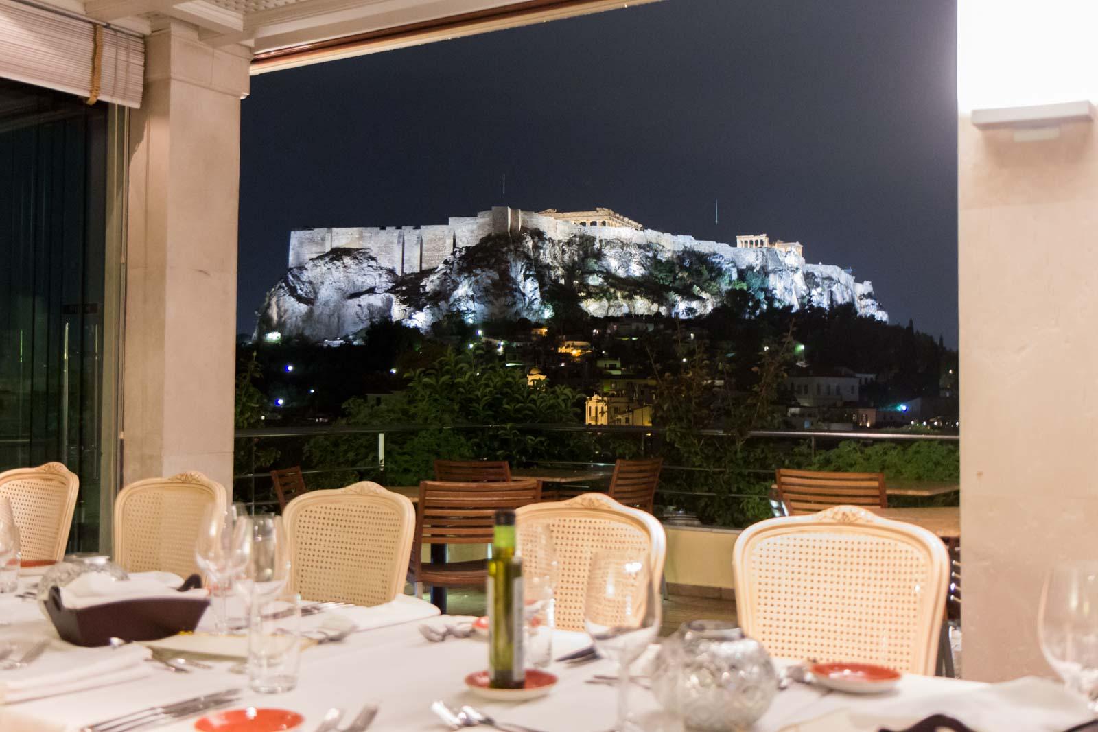 Electra Palace restaurant, Athens