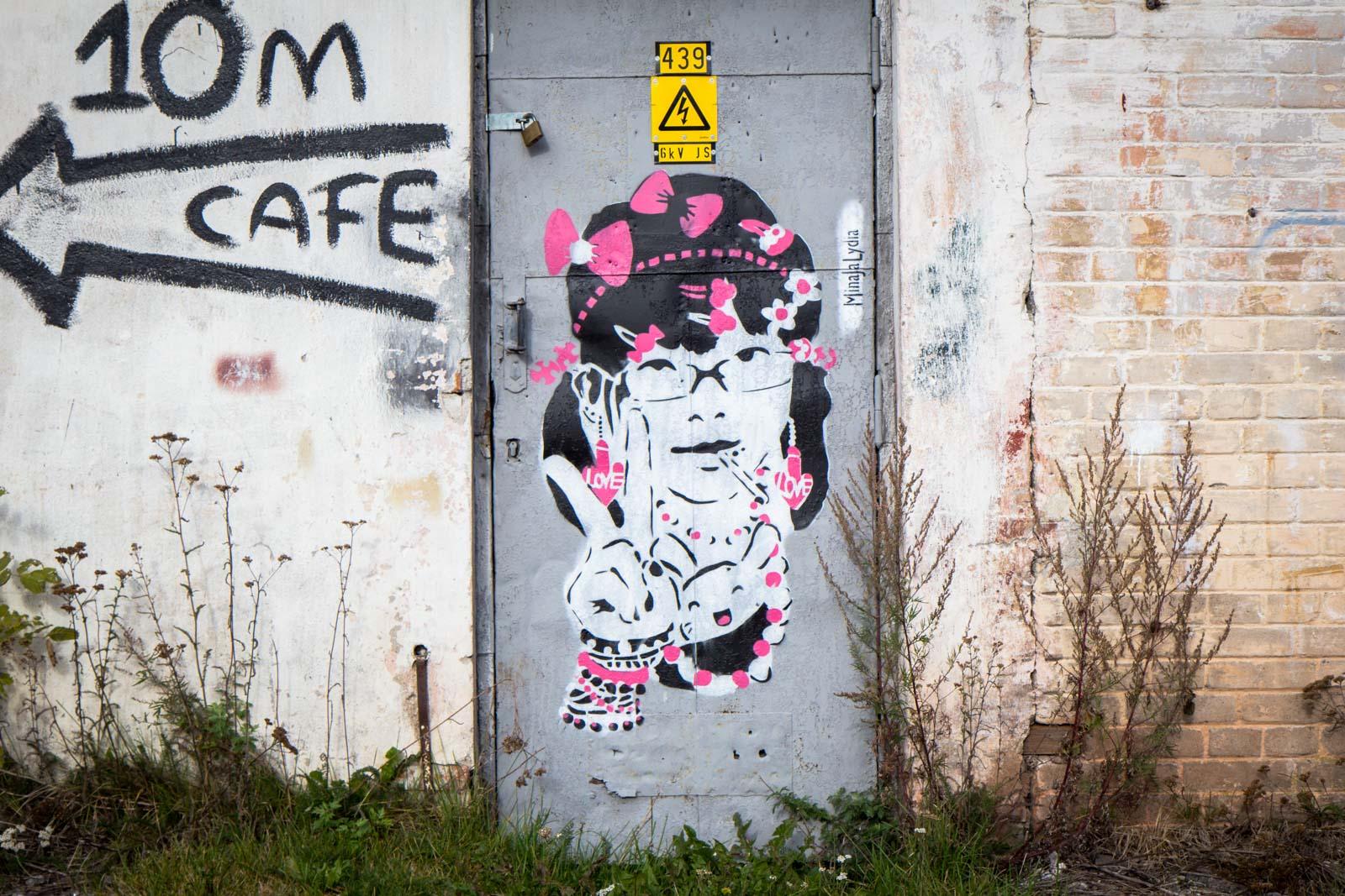 Art at Patarei Prison, Tallinn, Estonia