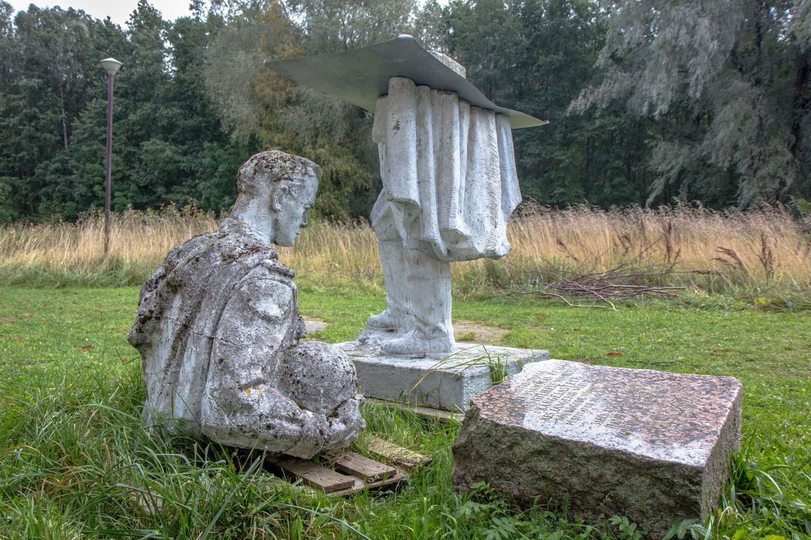 Soviet statue graveyard, Tallinn, Estonia