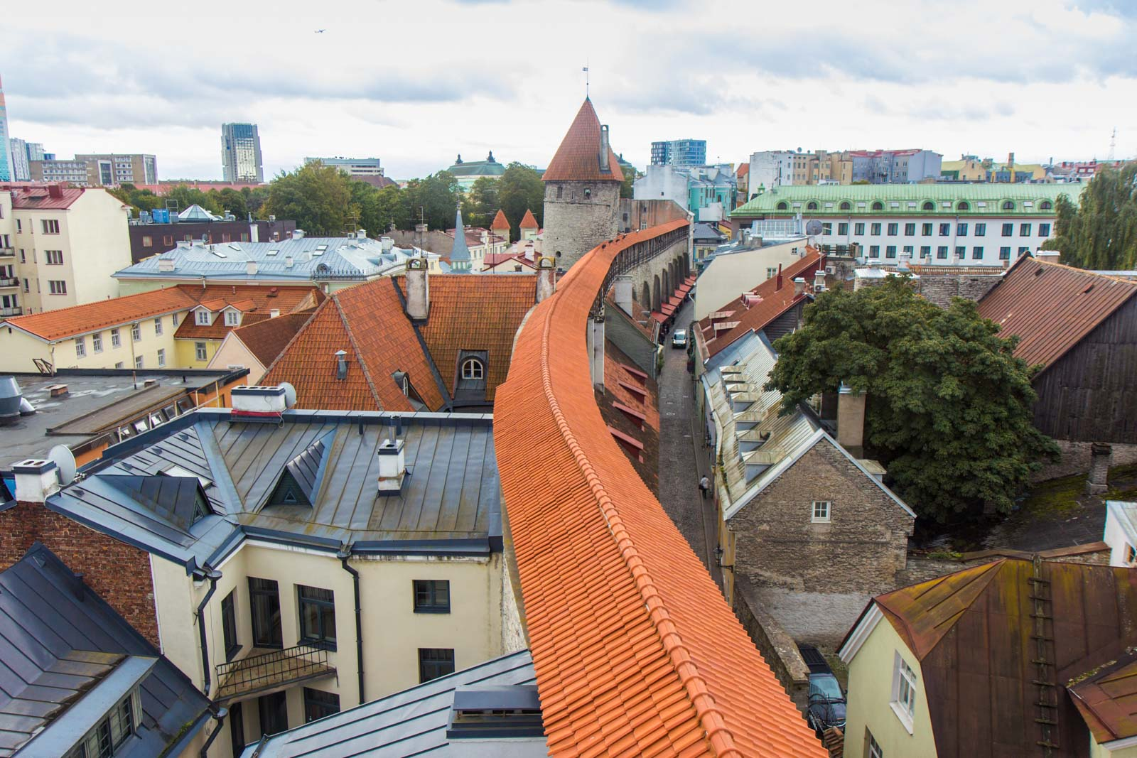 Old Town, Tallinn, Estonia