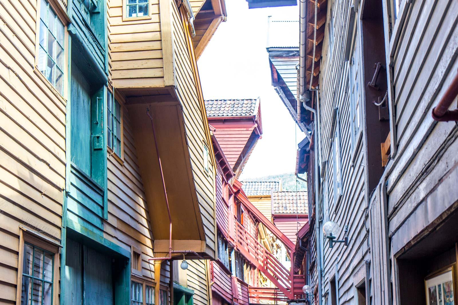 Bryggen wharf, Bergen, Norway