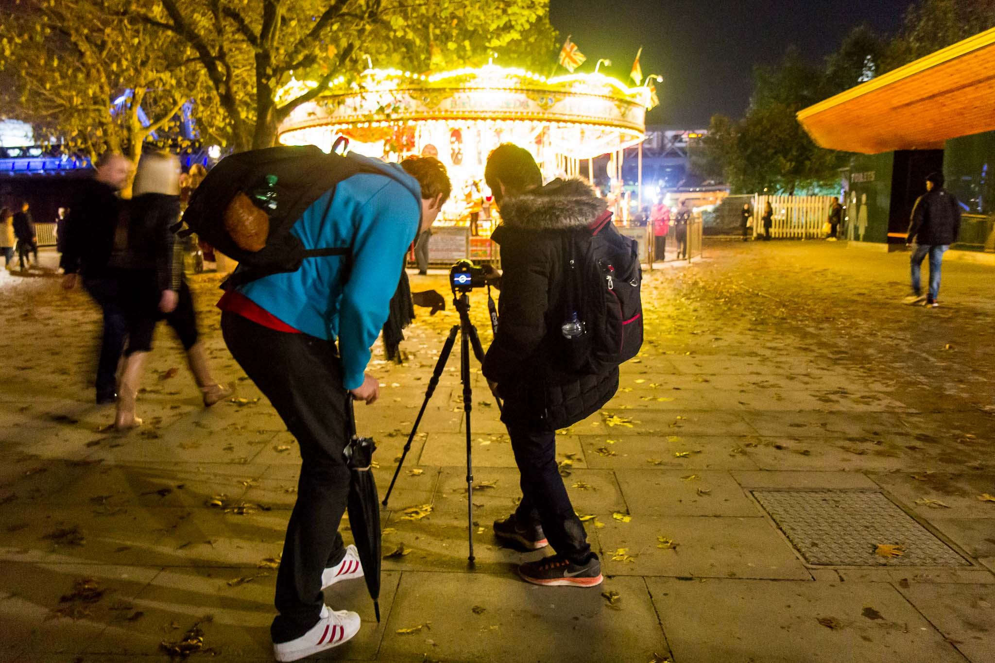 London night photography tour