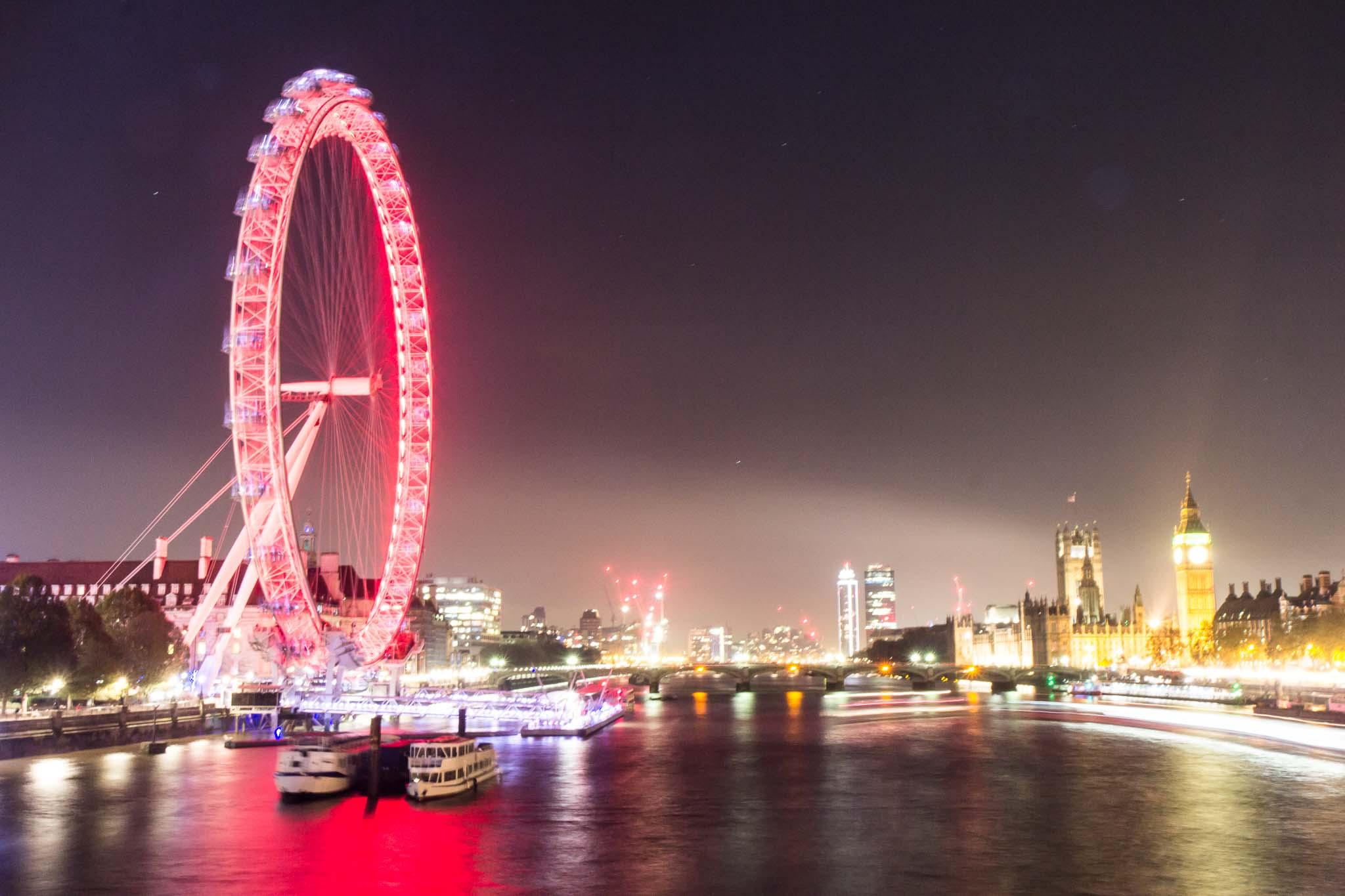London night photography tour