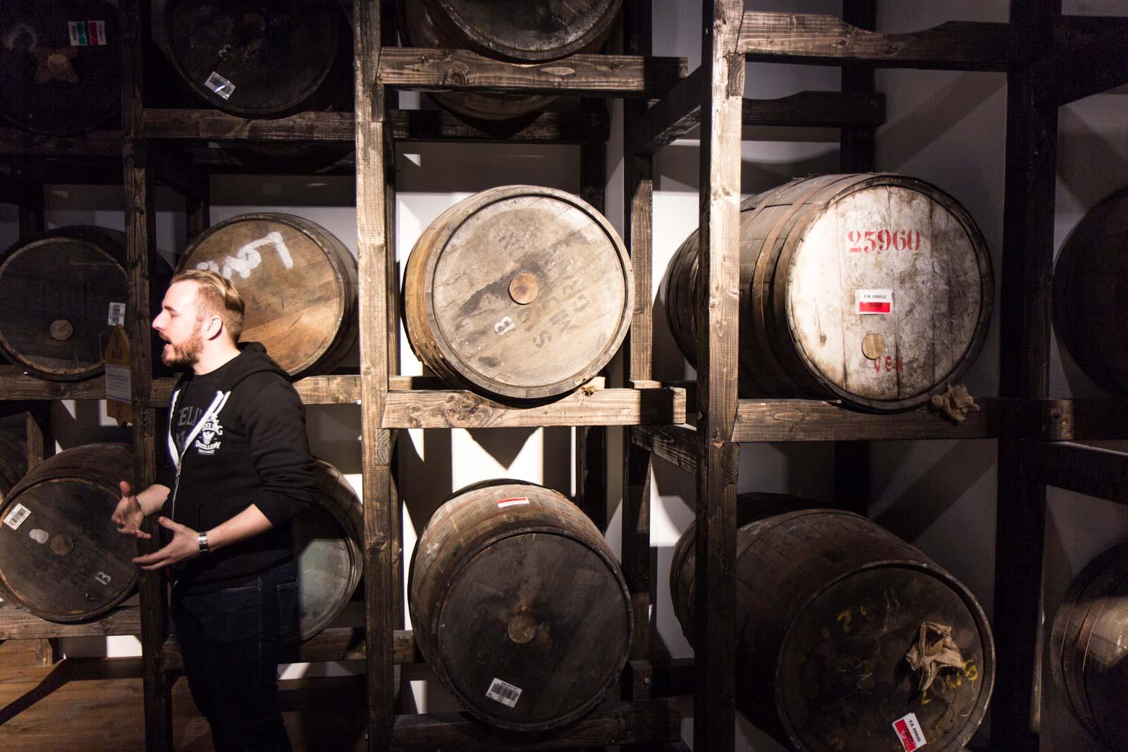 Teeling Whiskey distillery tour, Dublin, Ireland