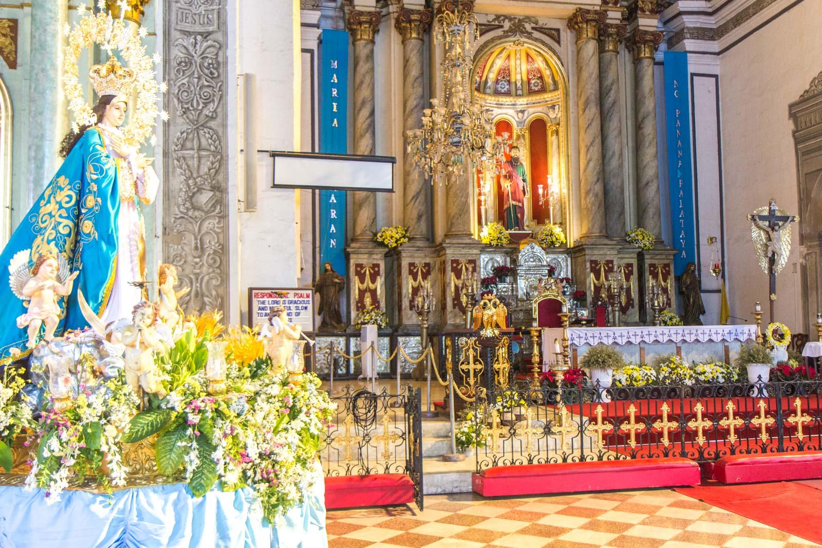 San Agustin Church, Manila, The Philippines