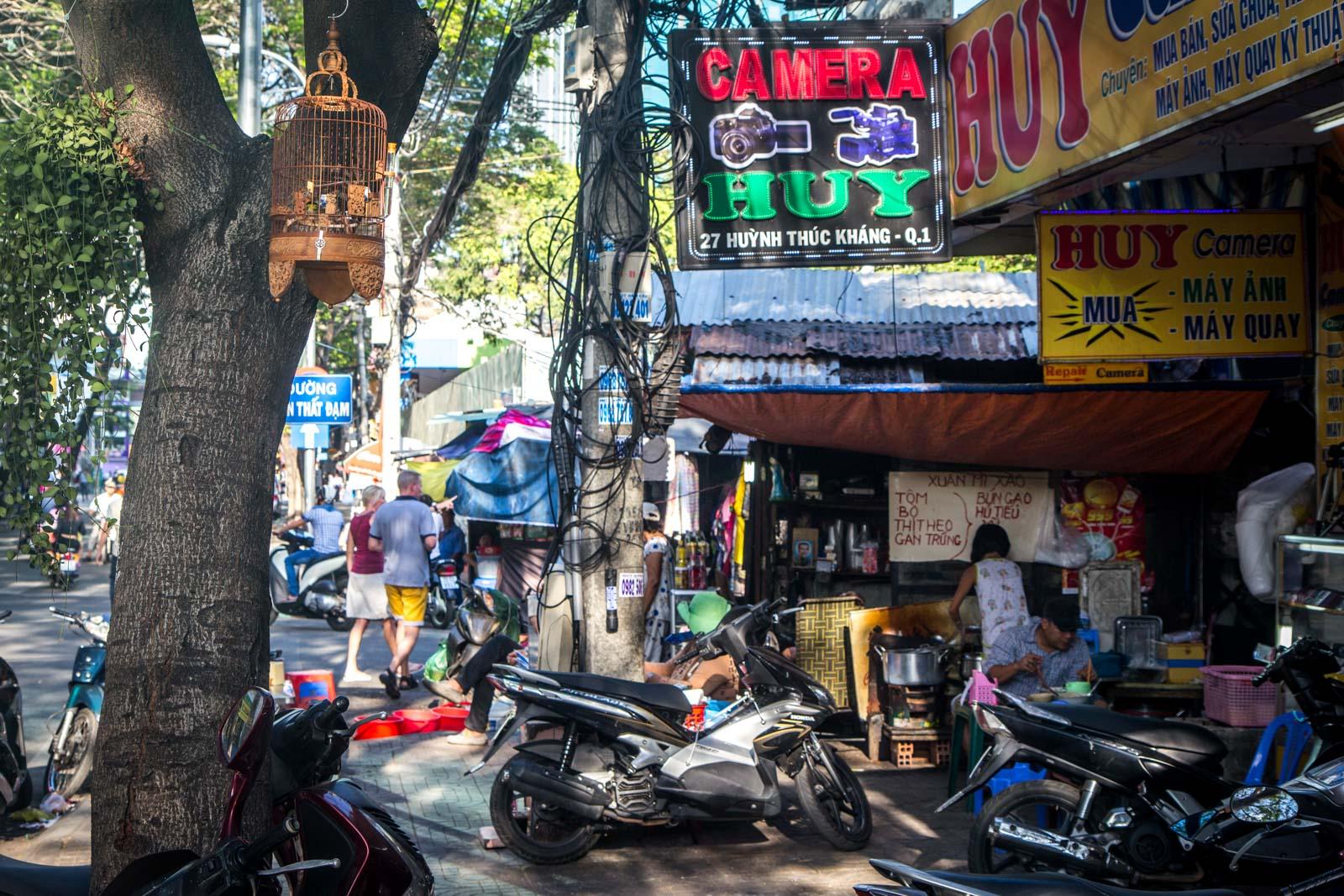 The new Saigon, Vietnam