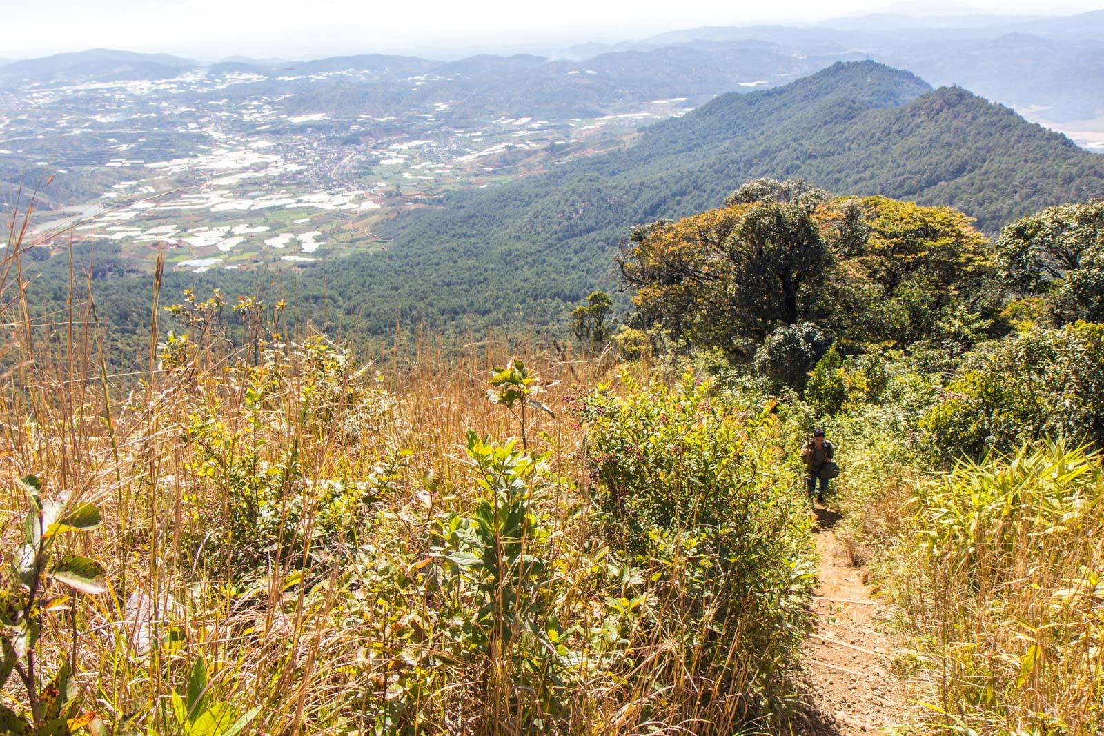 Lang Biang hike, Dalat, Vietnam