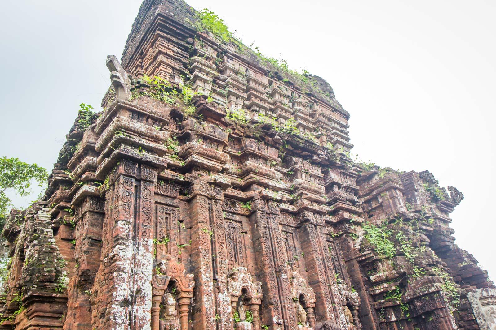 My Son ruins from Hoi An, Vietnam